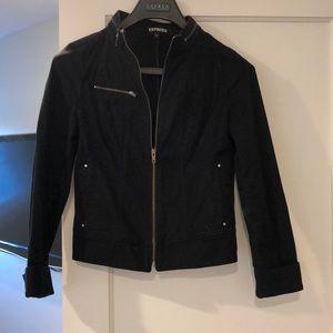 Stylish Express black jean jacket